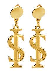 Logo Earrings - GOLD