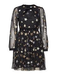 Macaron Dress - BLACK