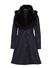 Tracey Coat - NAVY/BLACK