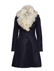 Tracey Coat - NAVY/LIGHT