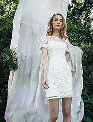 Ida Sjöstedt - Variety Dress - bodycon-kjoler - ivory - 0