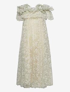Angel dress - blondekjoler - light green