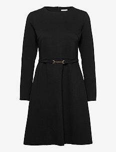 Cathy Dress - midimekot - black