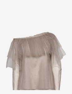 Celine Top - blouses met lange mouwen - grey
