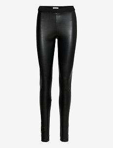 Dee Leggings - lederhosen - black