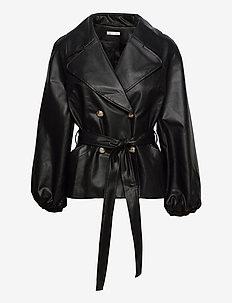 Esther Jacket - skinnjackor - black
