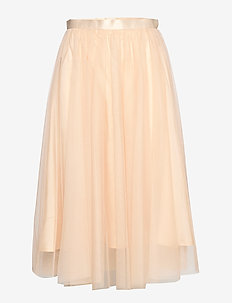 Flawless Skirt - midi - beige