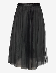 Flawless Skirt - midi rokken - black