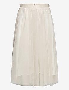 Flawless Skirt - midi skirts - cream