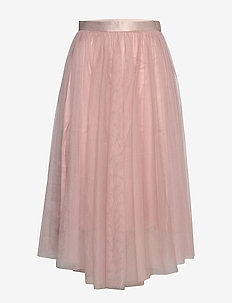 Flawless Skirt - midi-röcke - dusky pink