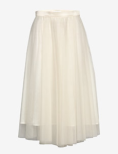 Flawless Skirt - midi skjørt - ivory