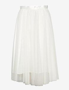Flawless Skirt - midi skirts - ivory