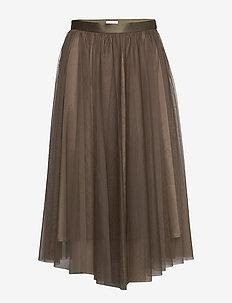 Flawless Skirt - midinederdele - olive