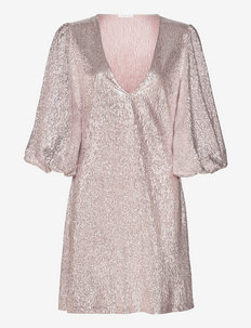 Giovanna dress - pailletkjoler - pink