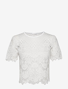 Jane Top - t-shirts - ivory