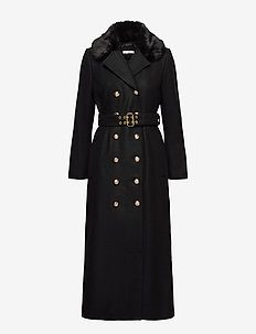 Jules Coat - villakangastakit - black