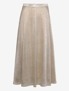 Lena Skirt - midinederdele - gold