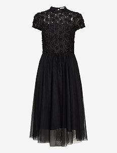 Mollie Dress - midi kjoler - black