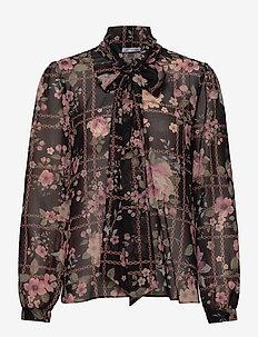 Peony Blouse - langärmlige blusen - floral chains
