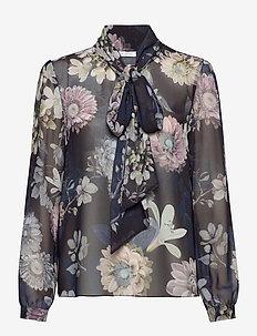 Peony Blouse - långärmade blusar - maxi florals