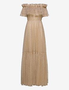 Rebecca Dress - maxi kjoler - beige