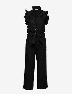 Rue Jumpsuit - jumpsuits - black