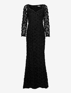Selena Dress - kveldskjoler - black