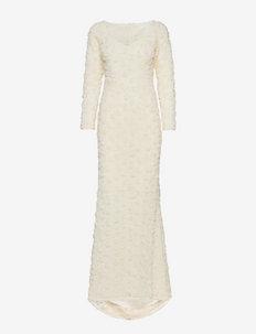 Selena Dress - sukienki wieczorowe - dark ivory
