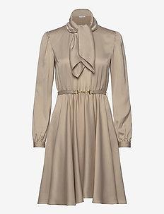 Shiver Dress - lyhyet mekot - beige