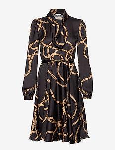 Shiver Dress - BLACK/GOLD