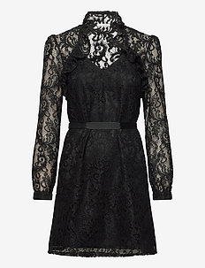 Tangerine Dress - korte kjoler - black