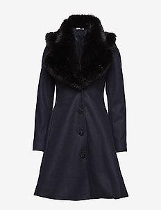 Tracey Coat - NAVY/BLACK