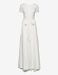 Violetta Dress - sukienki koronkowe - ivory