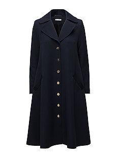 Elle Coat - Navy