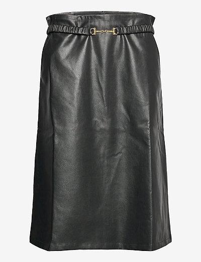 Bailey Skirt - midinederdele - black
