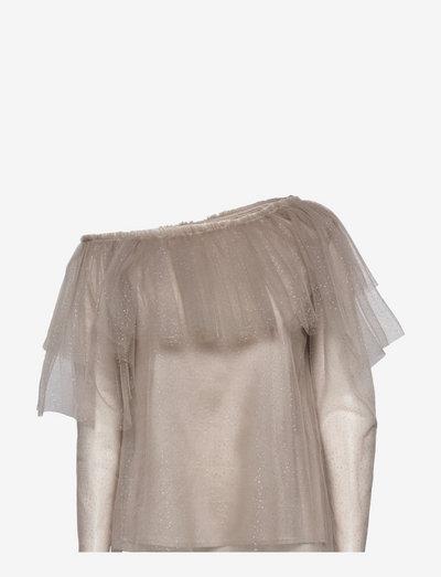 Celine Top - langermede bluser - grey