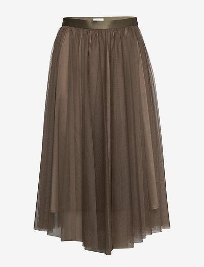 Flawless Skirt - midi skjørt - olive
