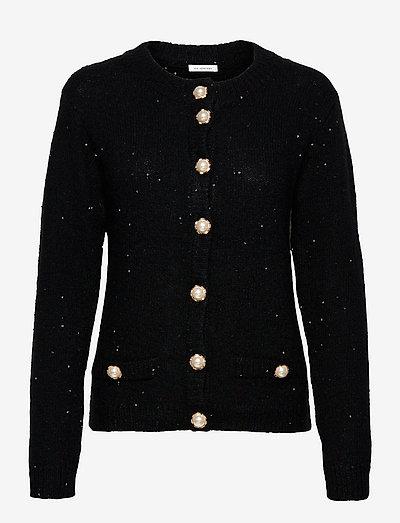 Flo Cardigan - swetry rozpinane - black
