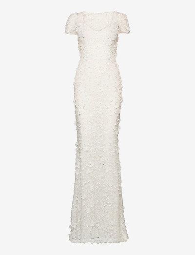 Gigi dress - kveldskjoler - ivory