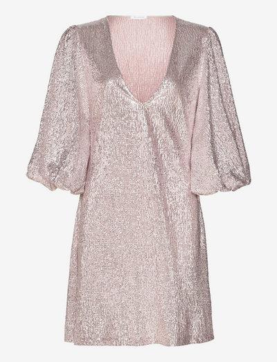 Giovanna dress - paljettkjoler - pink