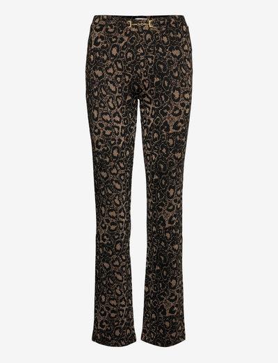 Hunter Pants - bukser med lige ben - leo