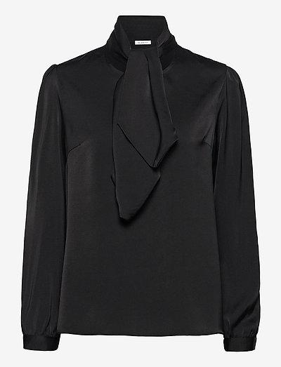 Lady Blouse - langærmede bluser - black