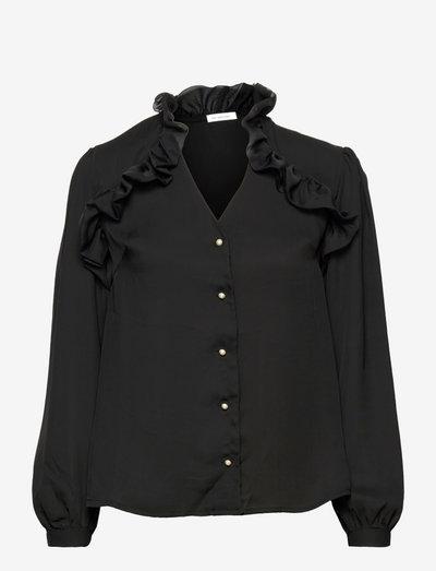 Maryanne Blouse - langærmede bluser - black