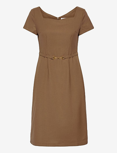 Michelle Dress - cocktail-kjoler - camel