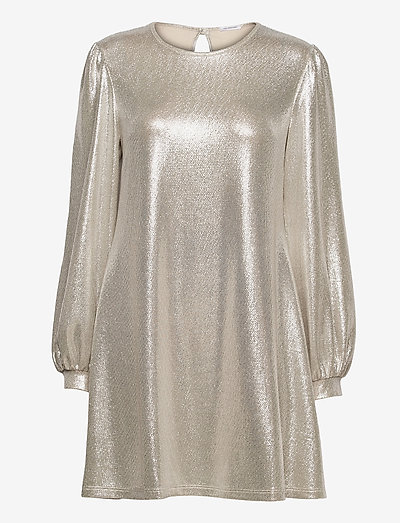 Mirabelle Dress - pailletkjoler - gold