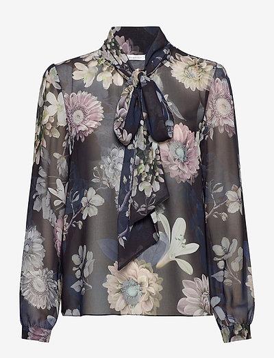 Peony Blouse - langermede bluser - maxi florals