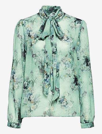 Peony Blouse - langermede bluser - romantic floral