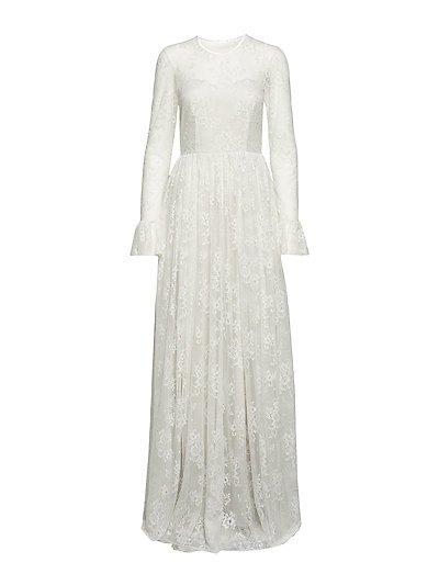 Statue Dress - IVORY/SILVER