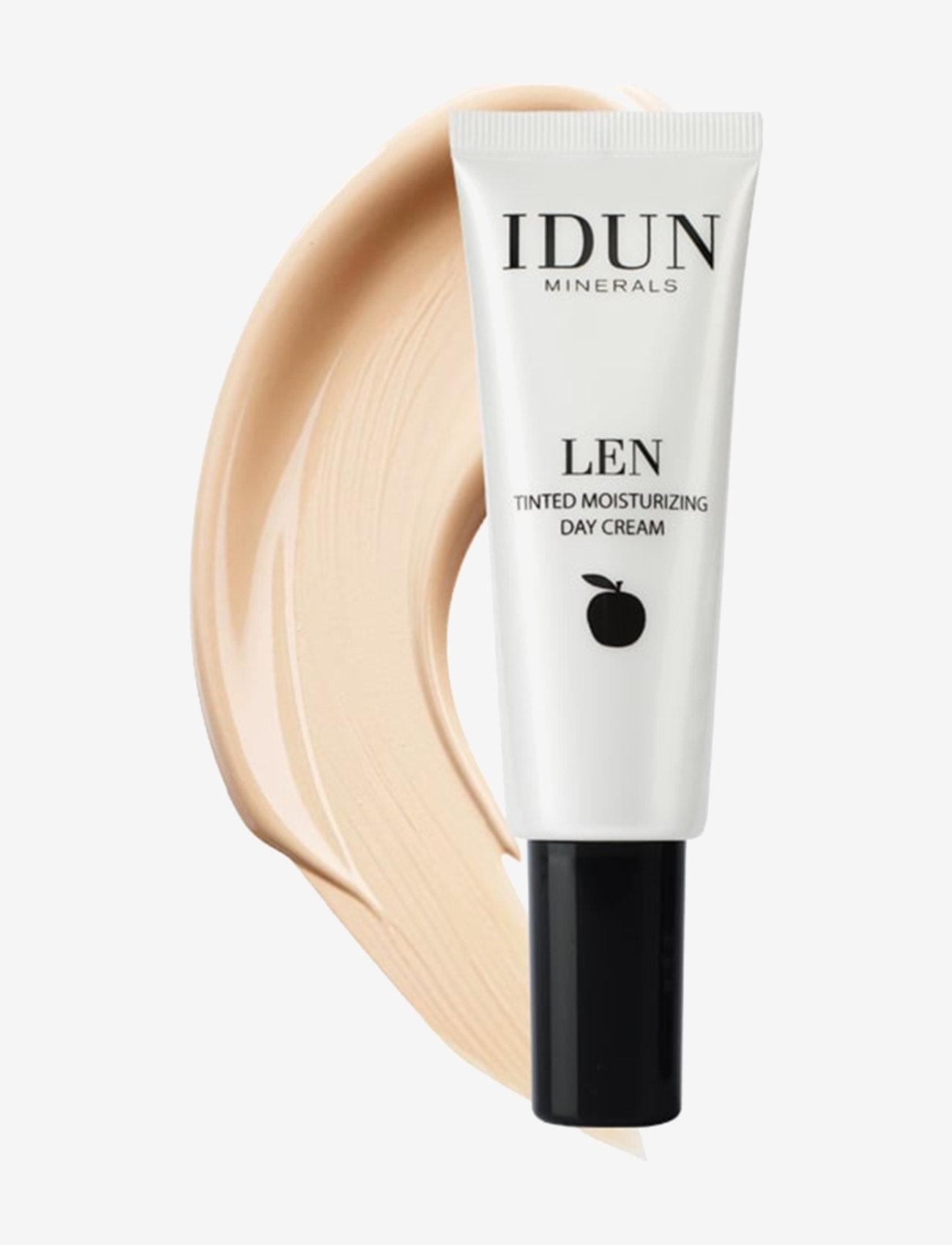 IDUN Minerals - Tinted Day Cream Len, Extra Light - bb & cc creme - extra light - 0