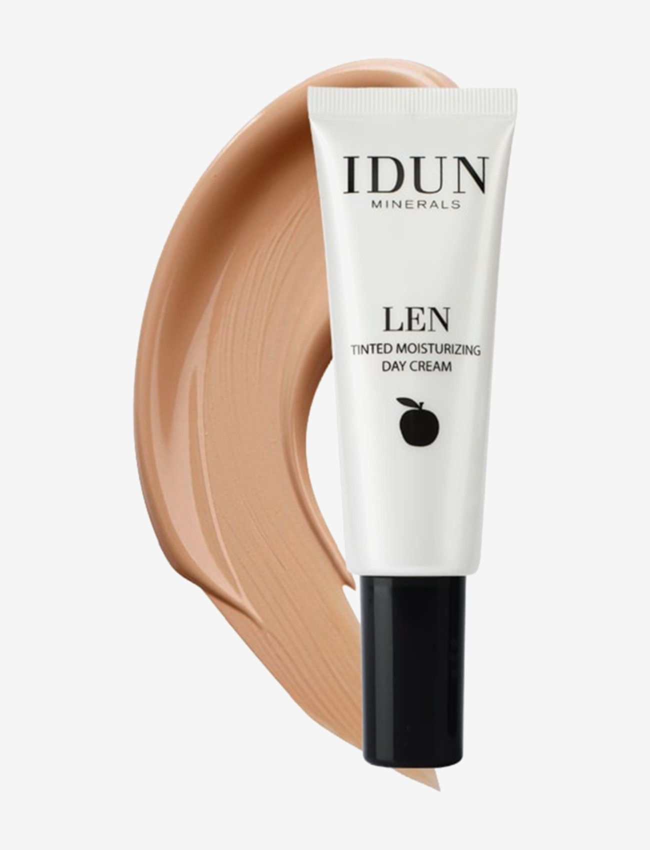IDUN Minerals - Tinted Day Cream Len, Tan - bb & cc creme - tan - 0